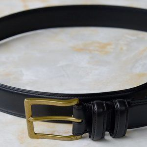 Polo Ralph Lauren Men's Belt Vachetta Black 38 NEW